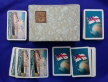 Shipping Line Advertising playing cards Shaw Saville Shipping Line